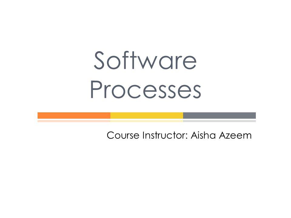 Course Instructor: Aisha Azeem