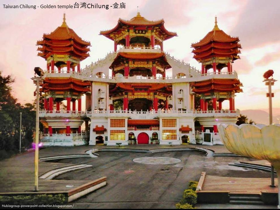 Taiwan Chilung - Golden temple台湾Chilung -金庙