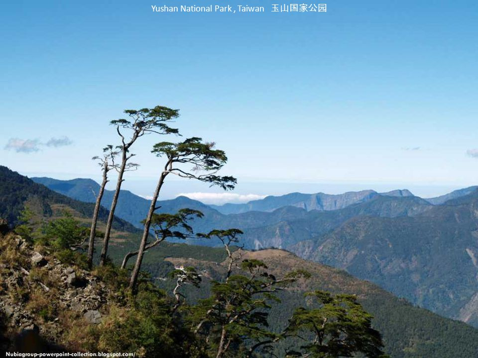 Yushan National Park , Taiwan 玉山国家公园