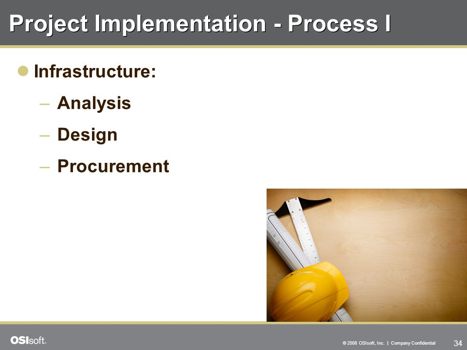 Project Implementation - Process I
