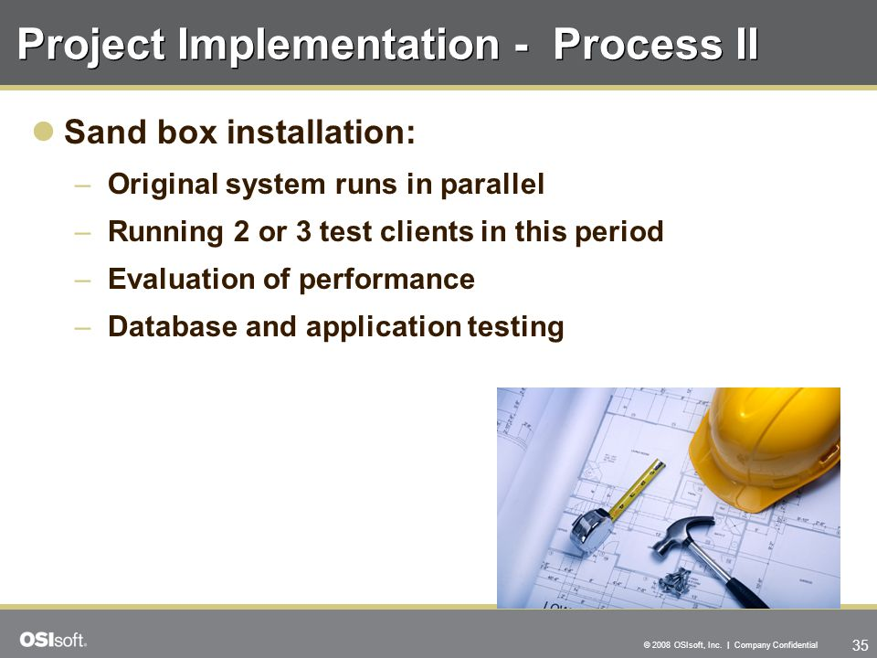 Project Implementation - Process II