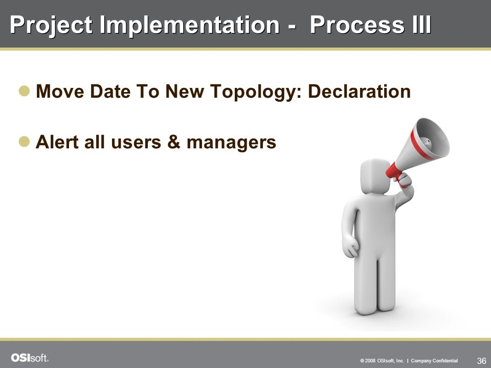 Project Implementation - Process III