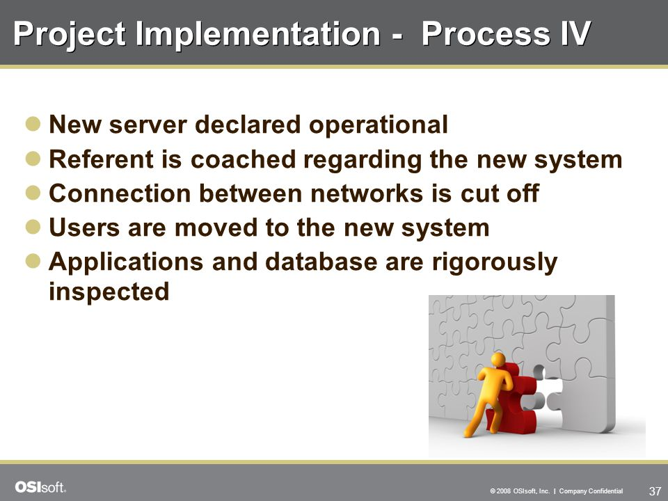 Project Implementation - Process IV