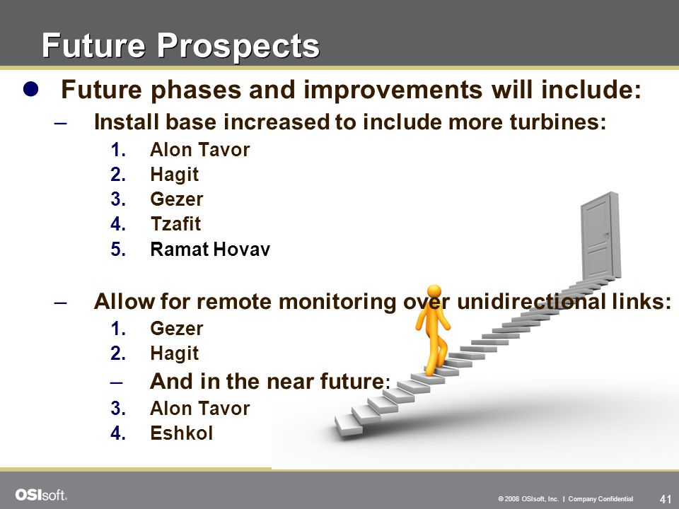 Future Prospects Future phases and improvements will include: