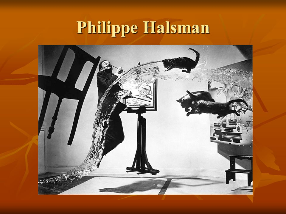 Philippe Halsman Btw for this picture, it took them 26 tries and over five hours to get that picture.