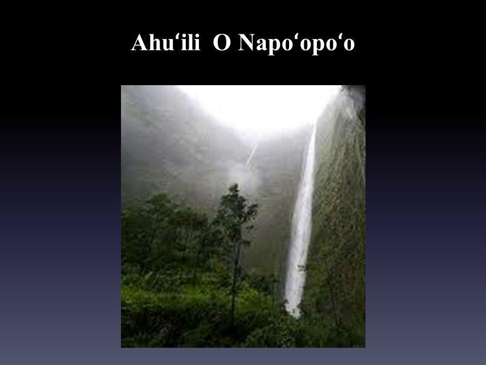 Ahuʻili O Napoʻopoʻo