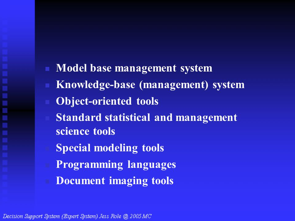Model base management system