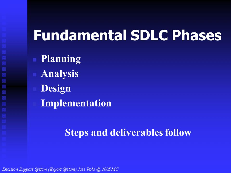 Fundamental SDLC Phases