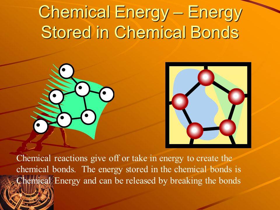 Chemical Energy – Energy Stored in Chemical Bonds