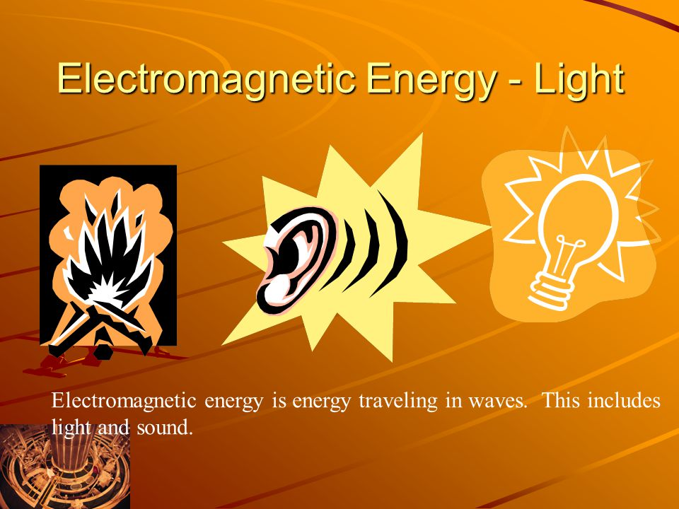 Electromagnetic Energy - Light