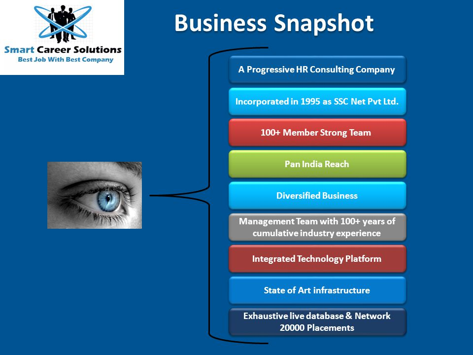 Business Snapshot A Progressive HR Consulting Company