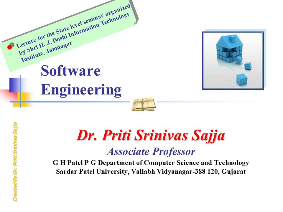Dr. Priti Srinivas Sajja