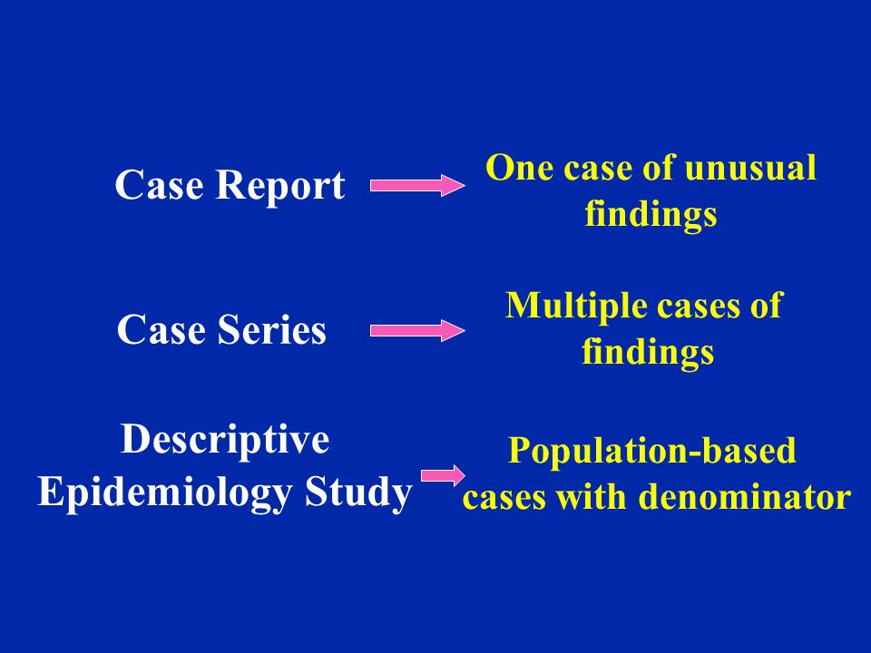 cases with denominator