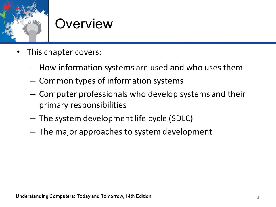 Overview This chapter covers: