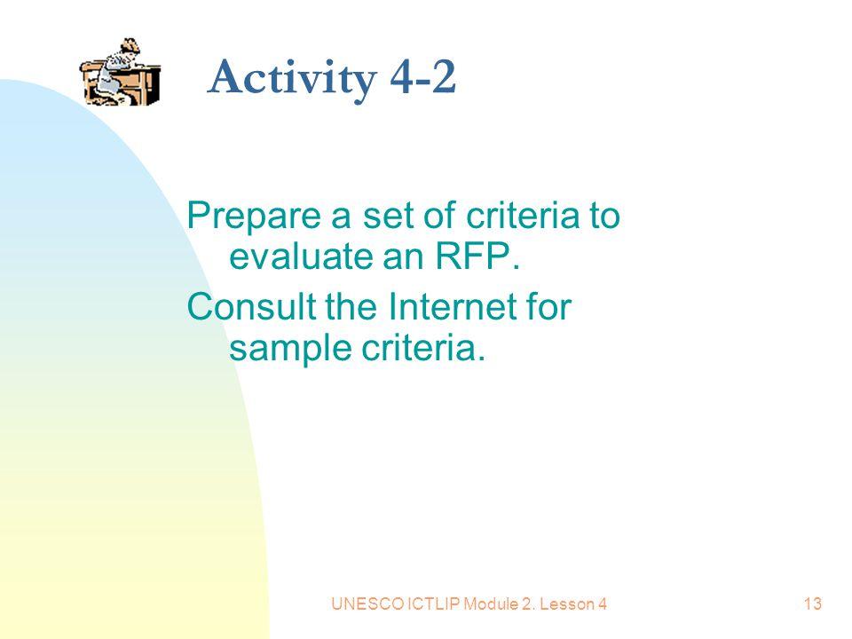 UNESCO ICTLIP Module 2. Lesson 4