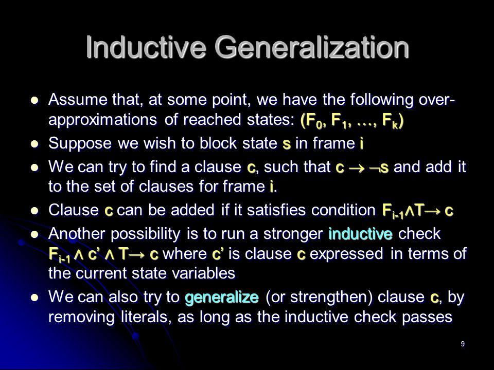 Inductive Generalization