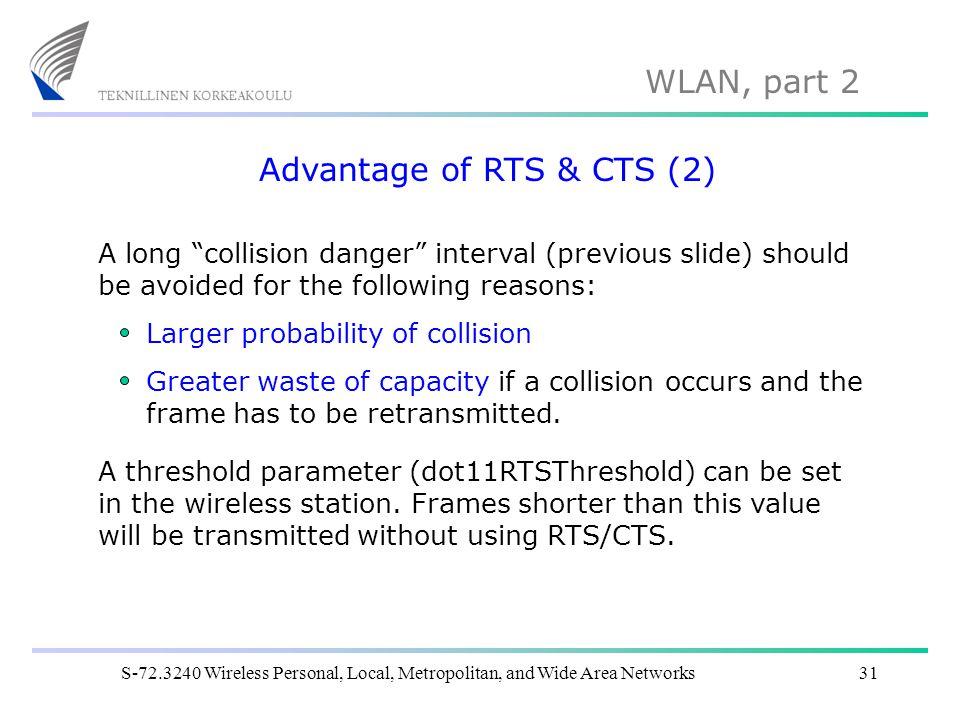 Advantage of RTS & CTS (2)
