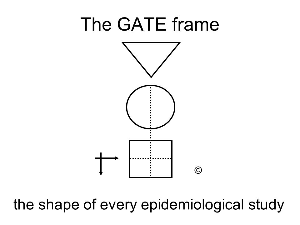 the shape of every epidemiological study