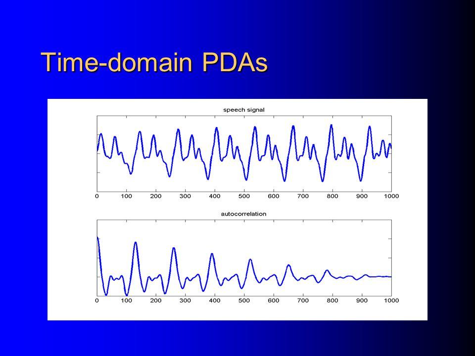 Time-domain PDAs