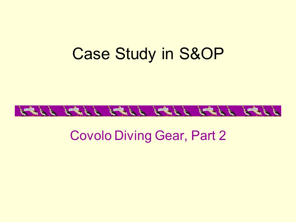 Covolo Diving Gear, Part 2