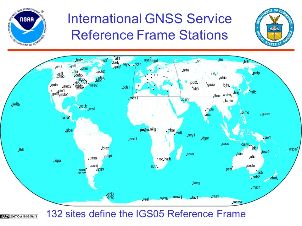 International GNSS Service Reference Frame Stations