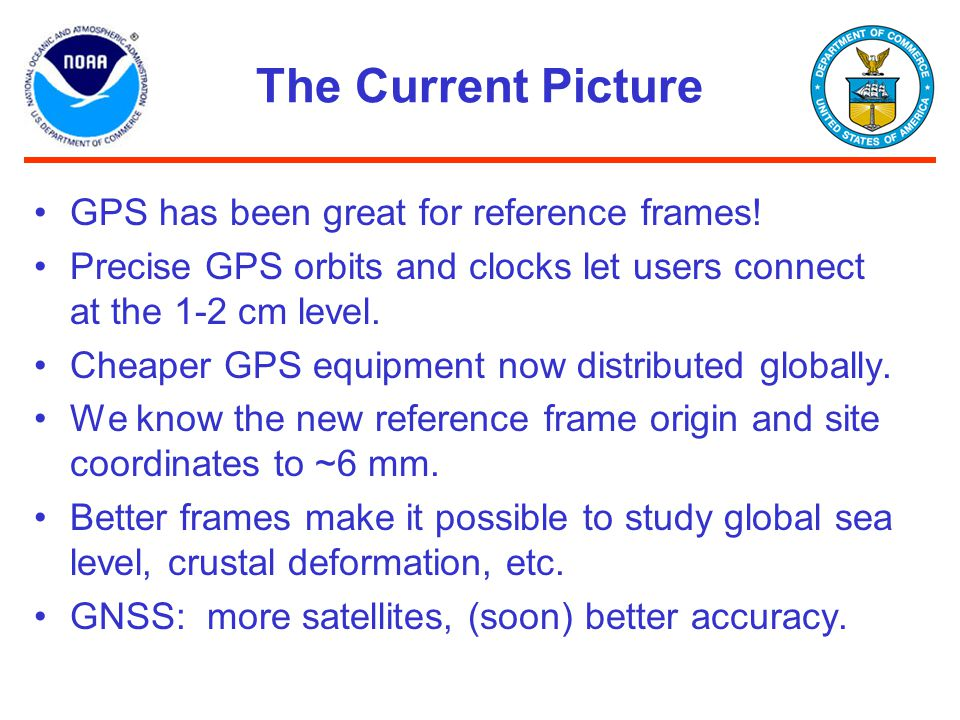 The Current Picture GPS has been great for reference frames!