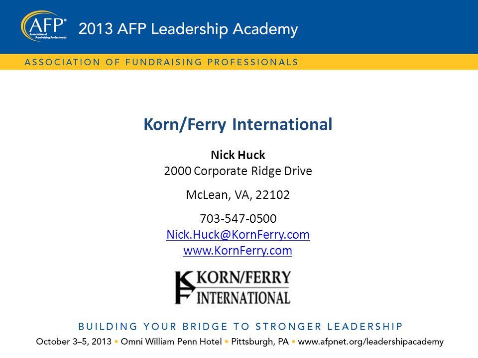 Korn/Ferry International