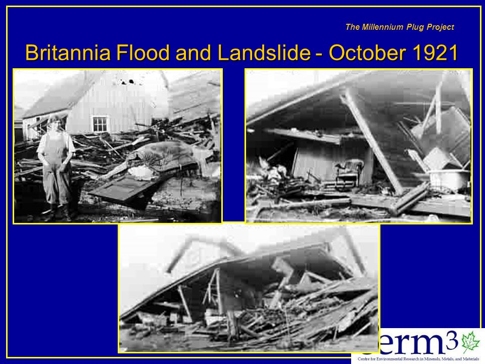 Britannia Flood and Landslide - October 1921