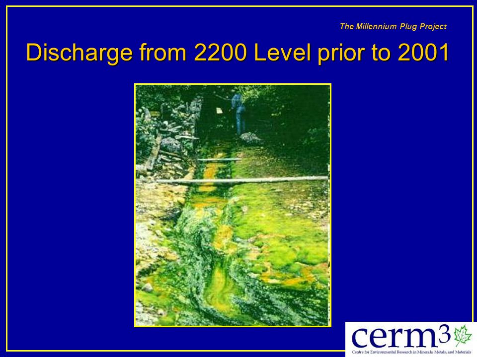 Discharge from 2200 Level prior to 2001