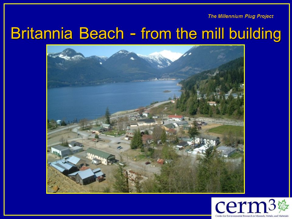 Britannia Beach - from the mill building