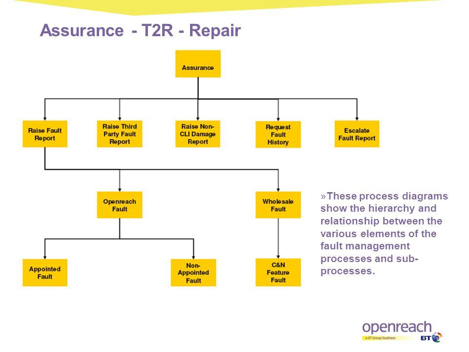 Assurance - T2R - Repair
