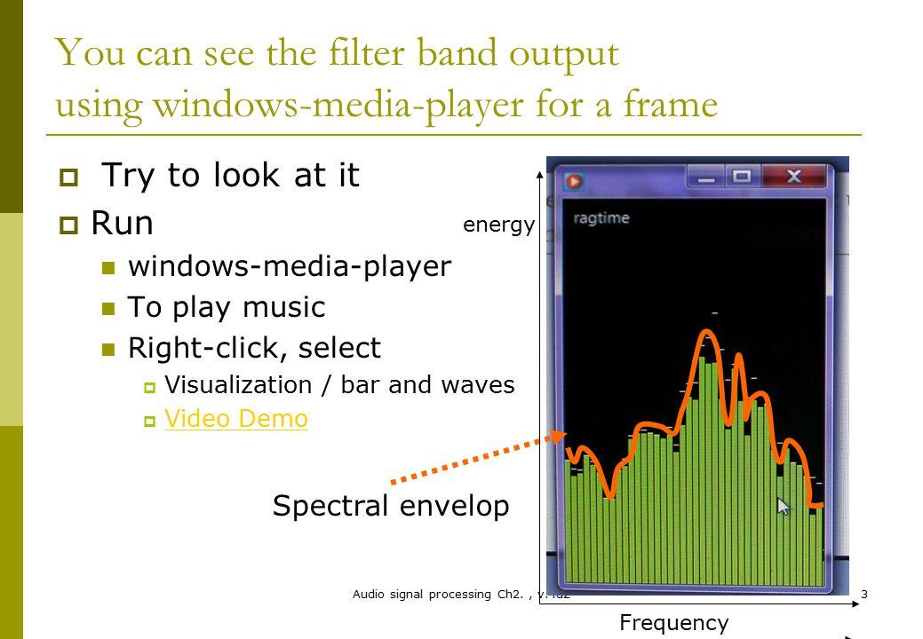Audio signal processing Ch2. , v.4d2