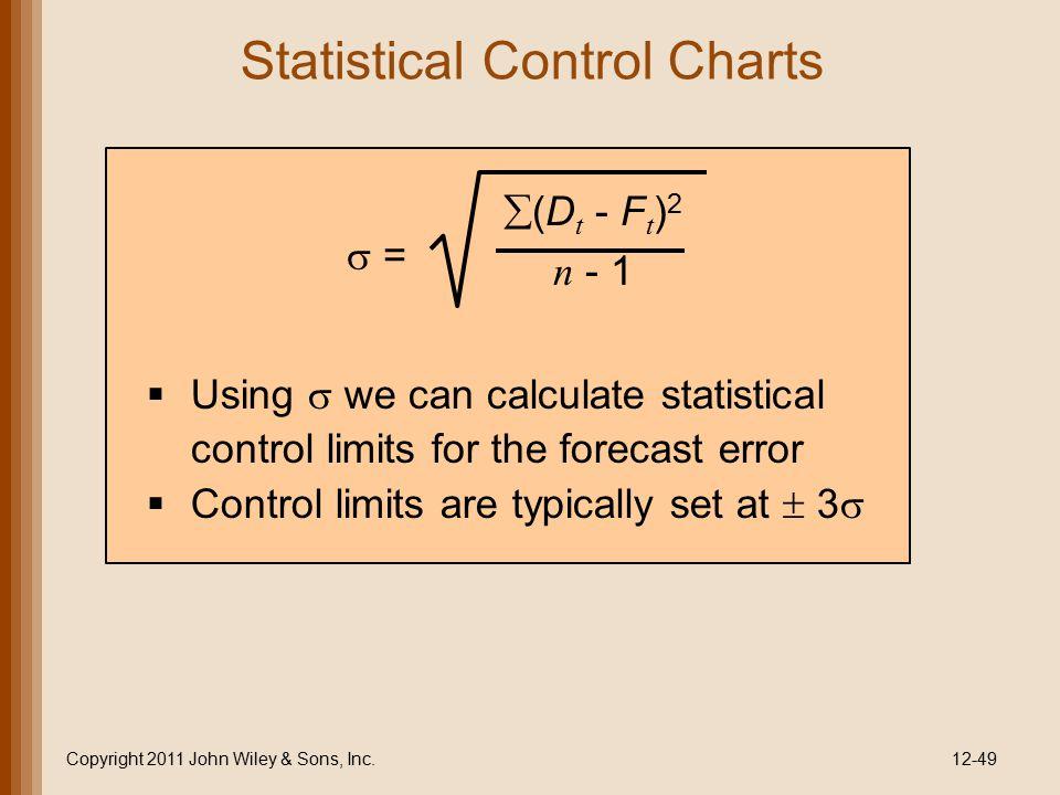 Statistical Control Charts