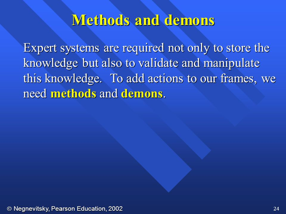 Methods and demons