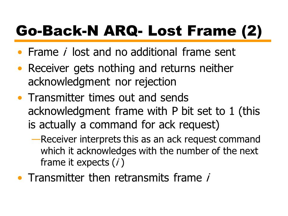 Go-Back-N ARQ- Lost Frame (2)