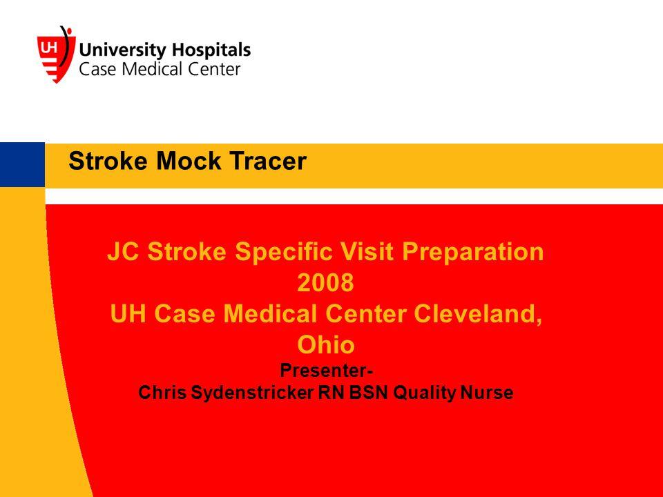 JC Stroke Specific Visit Preparation 2008
