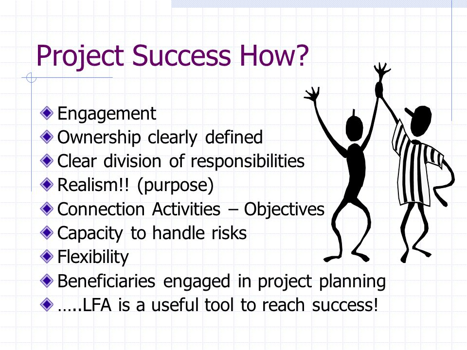 Project Success How Engagement Ownership clearly defined