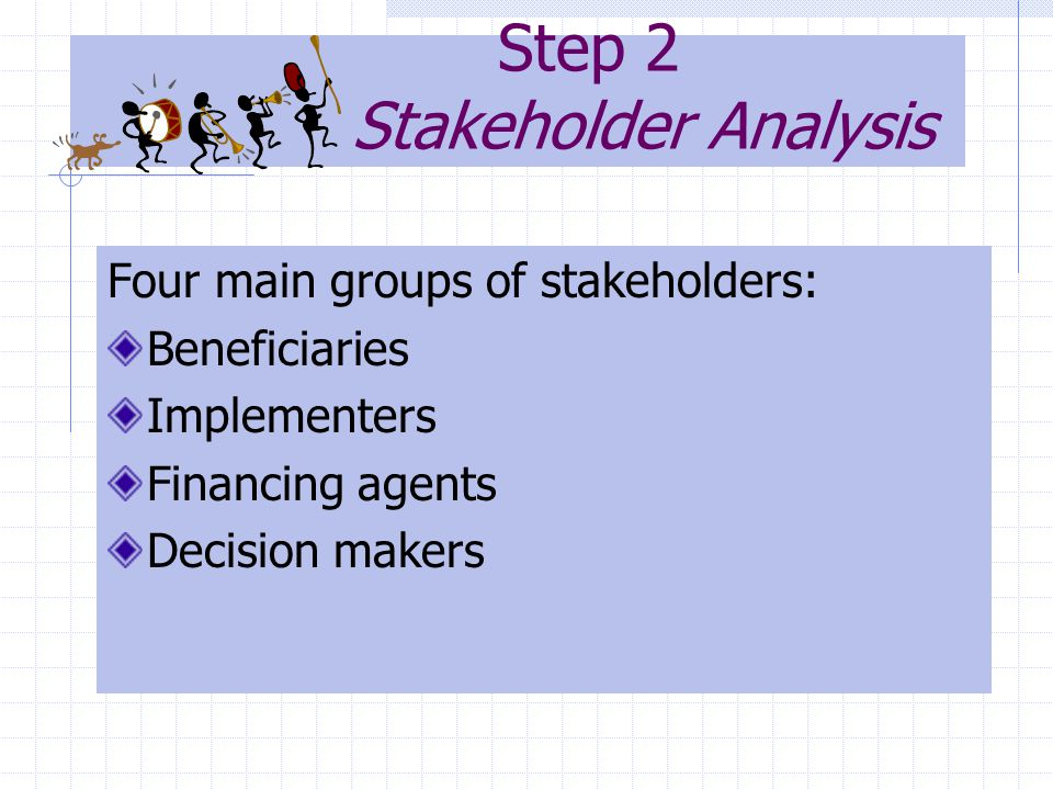 Step 2 Stakeholder Analysis