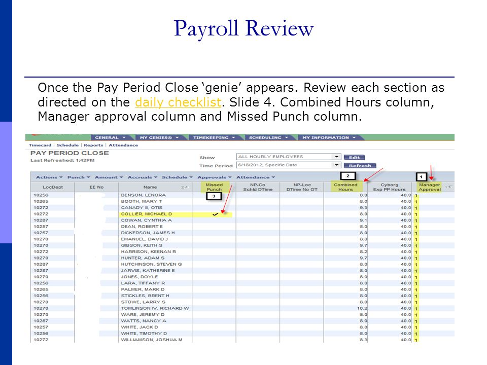 Payroll Review