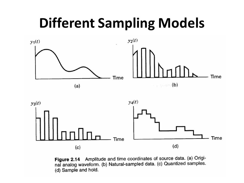 Different Sampling Models