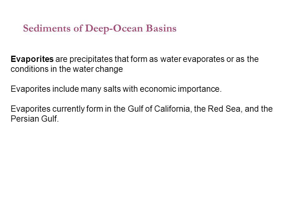 Sediments of Deep-Ocean Basins