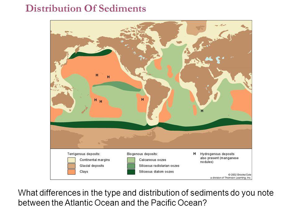 Distribution Of Sediments