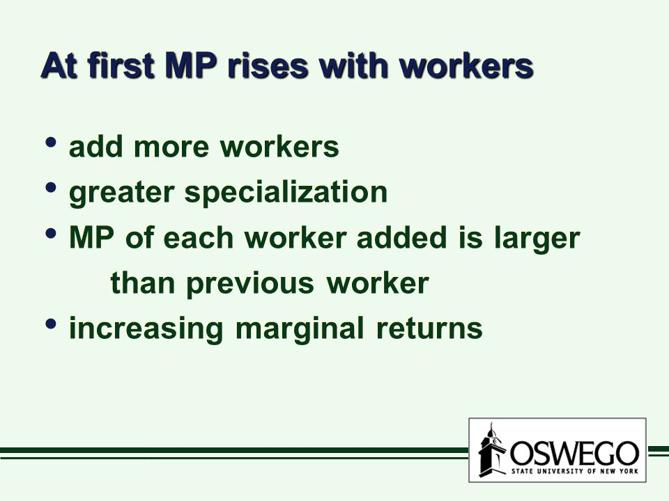 At first MP rises with workers