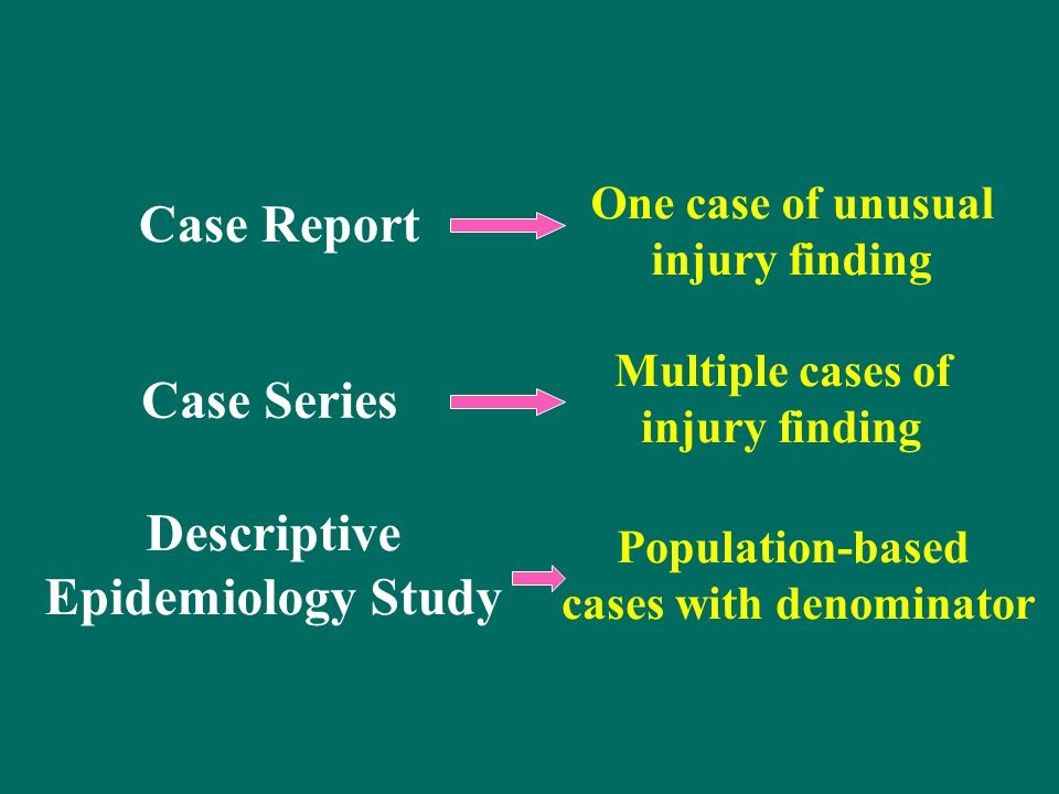 epidemiology case study As an area of statistical application, environmental epidemiology and more speci  cally, the estimation of health risk  a case study in air pollution and health.