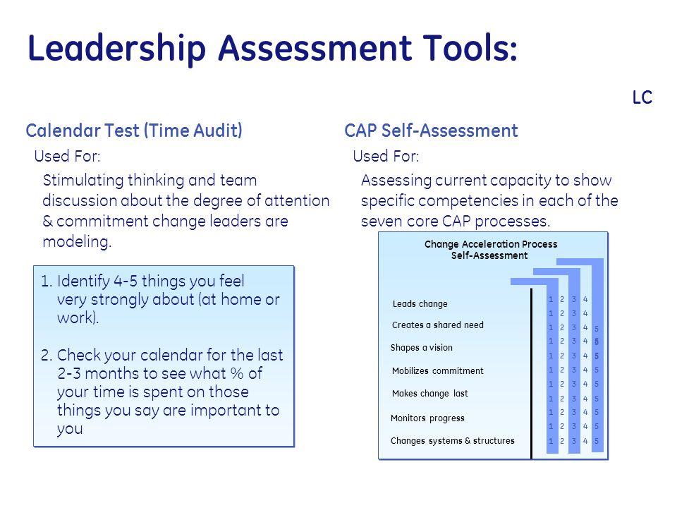 Leadership Assessment Tools: LC