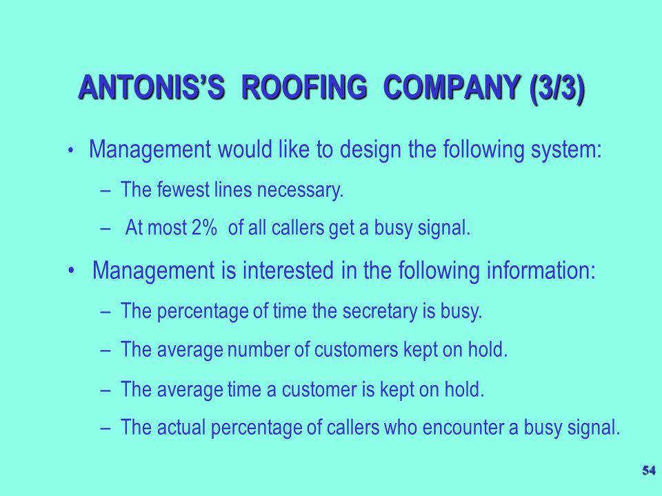 ANTONIS'S ROOFING COMPANY (3/3)