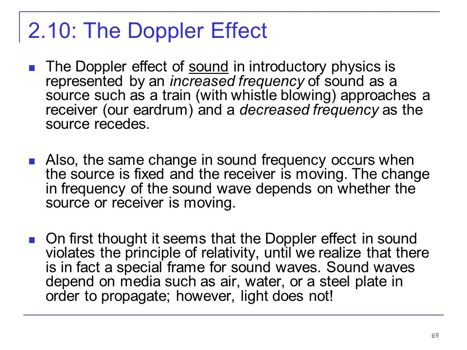 2.10: The Doppler Effect