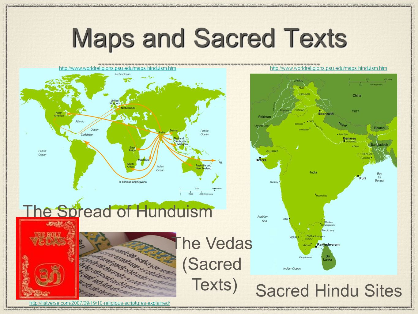 Spread Of Jainism Map Hinduism (1500 ...