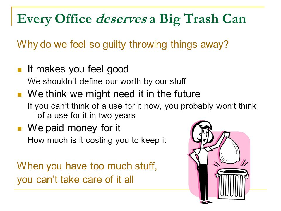 Every Office deserves a Big Trash Can