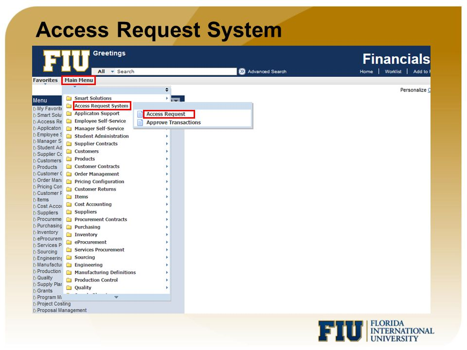 Access Request System